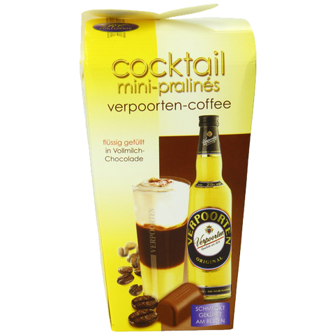 Verpoorten Coffee and Egg Liquor Filled Mini Pralines 4.2 Ounce