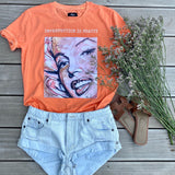 TRIKO IMPERFECTION IS BEAUTY VINTAGE WASHED ORANGE