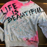 "Mikina ""Life is beautifull"""