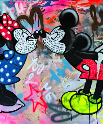 Love forever/mickey and minnie/