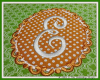 Monogram Applique Set 1