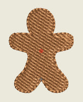 Gingerbread Man Buttons (Mini Designs)