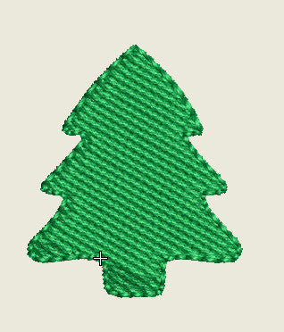 Christmas Tree Buttons (Mini Designs)