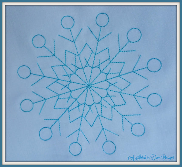 Snowflake Set 1 - Set of 6 sizes