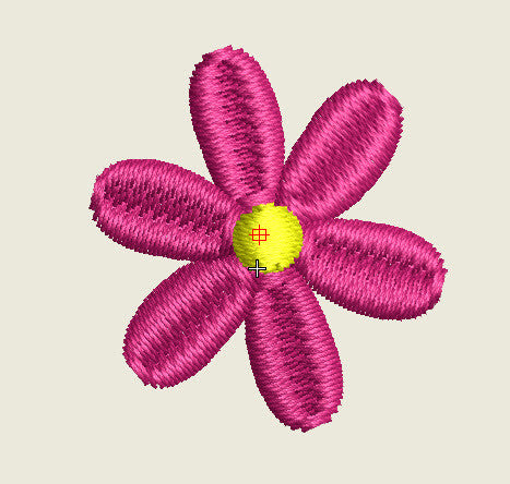 Flower Mini Design (Buttons)