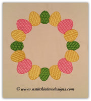 Easter Egg Monogram Frame (fits 5x7 Hoops)