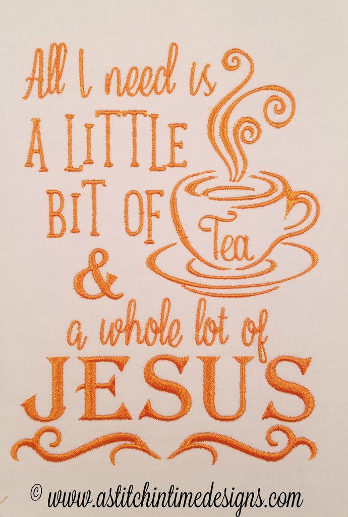 Tea and Jesus