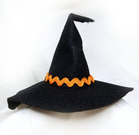 "Witch Hat Approx. 5"" Tall (Sewing Pattern)"
