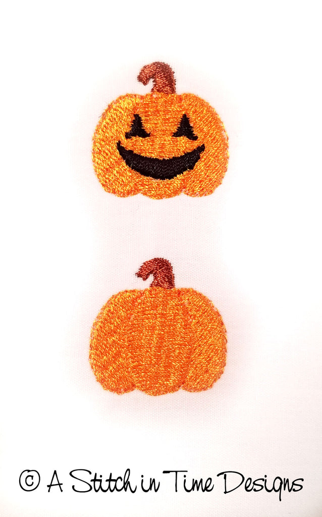 JackOLantern and Pumpkin Mini Designs