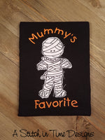 Mummy's Favorite Applique
