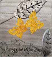 FSL Butterfly Earrings or Charms