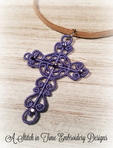 FSL Cross Pendant