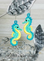 FSL Seahorse Earrings