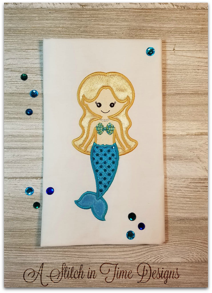 Mermaid Applique