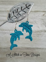 FSL Dolphin Earrings or Charms