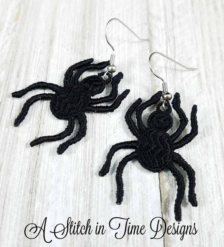 FSL Spider Earrings