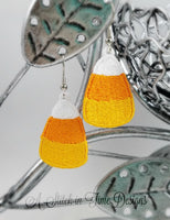 FSL Candy Corn Earrings