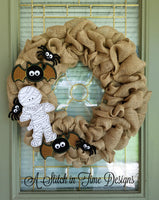 ITH Wreath Decor - Spider 4x4
