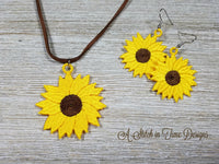 FSL Sunflower Pendant