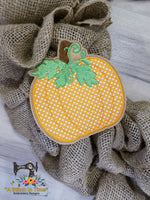 ITH Wreath Decor - Thanksgiving Pumpkin for 5x7 hoop