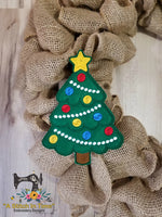 ITH Wreath Decor Christmas Tree (5x7 hoops)