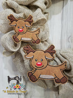 ITH Wreath Decor Reindeer 4x4