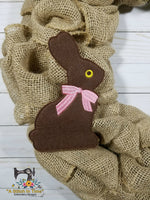 ITH Chocolate Rabbit 5x7
