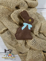 ITH Chocolate Rabbit 4x4