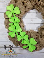 ITH Shamrock (fits 4x4 hoops)