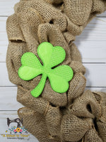 ITH Shamrock (fits 5x7 or 6x6 hoops)