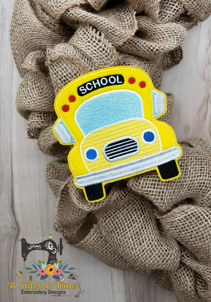 ITH School Bus (fits most 5x7 or 6x6 hoops)