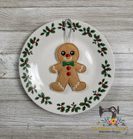 ITH Gingerbread Man Cookie Ornament