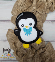 ITH Penguin for 5x7 hoops