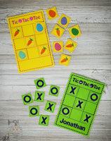 ITH Tic Tac Toe Set - Easter