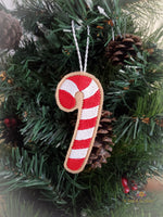 ITH Christmas Cookie Ornament - Candy Cane
