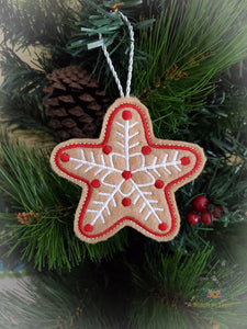 ITH Christmas Cookie Ornament - Star