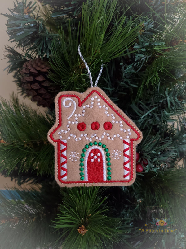 ITH Christmas Cookie Ornament - House