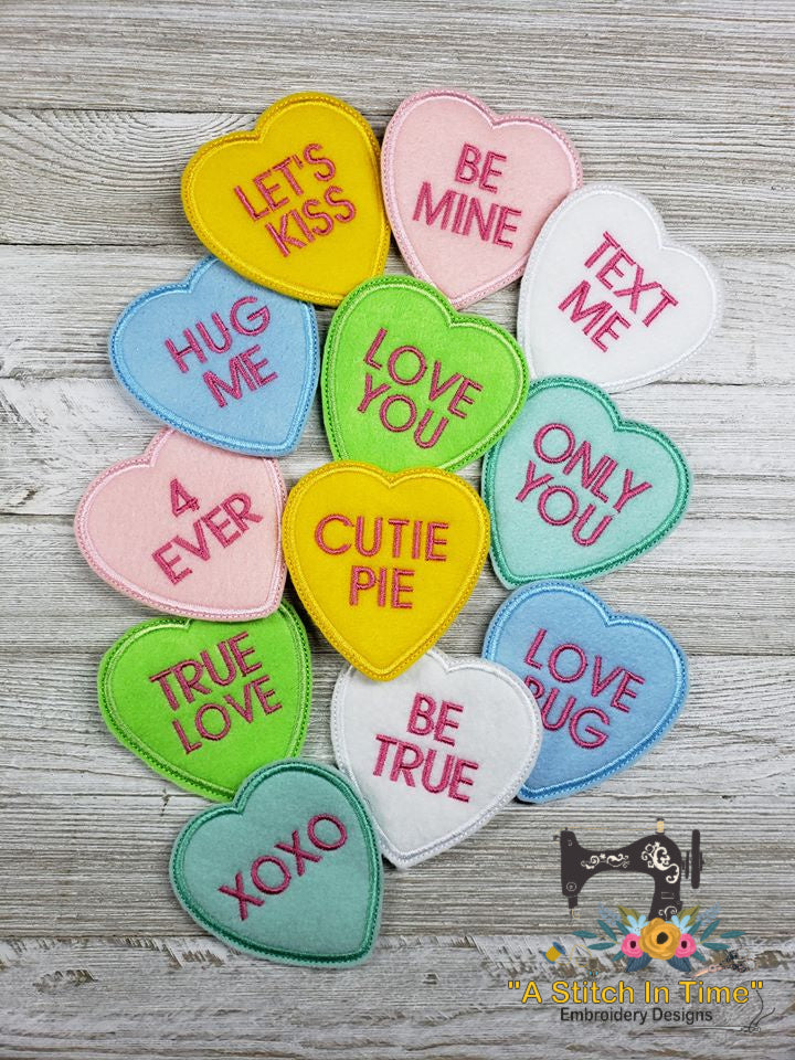 ITH Conversation Hearts Set of 12