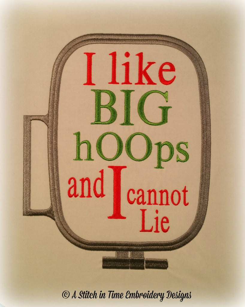 I Like Big Hoops for 7x12 hoop