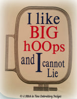 I Like Big Hoops for 8x12 hoop