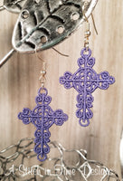 FSL Cross Earrings or Charms