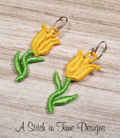 FSL Tulip Earrings or Charms