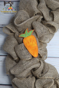 ITH Applique Carrot 1