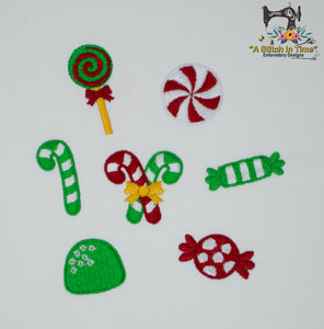 Christmas Candy Mini Design Set