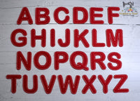"ITH ""Handstitched"" Round Font Set"