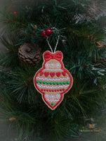 ITH Christmas Cookie Ornament