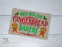ITH Gingerbread Snack Mat