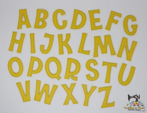 ITH Fun and Funky Font Set