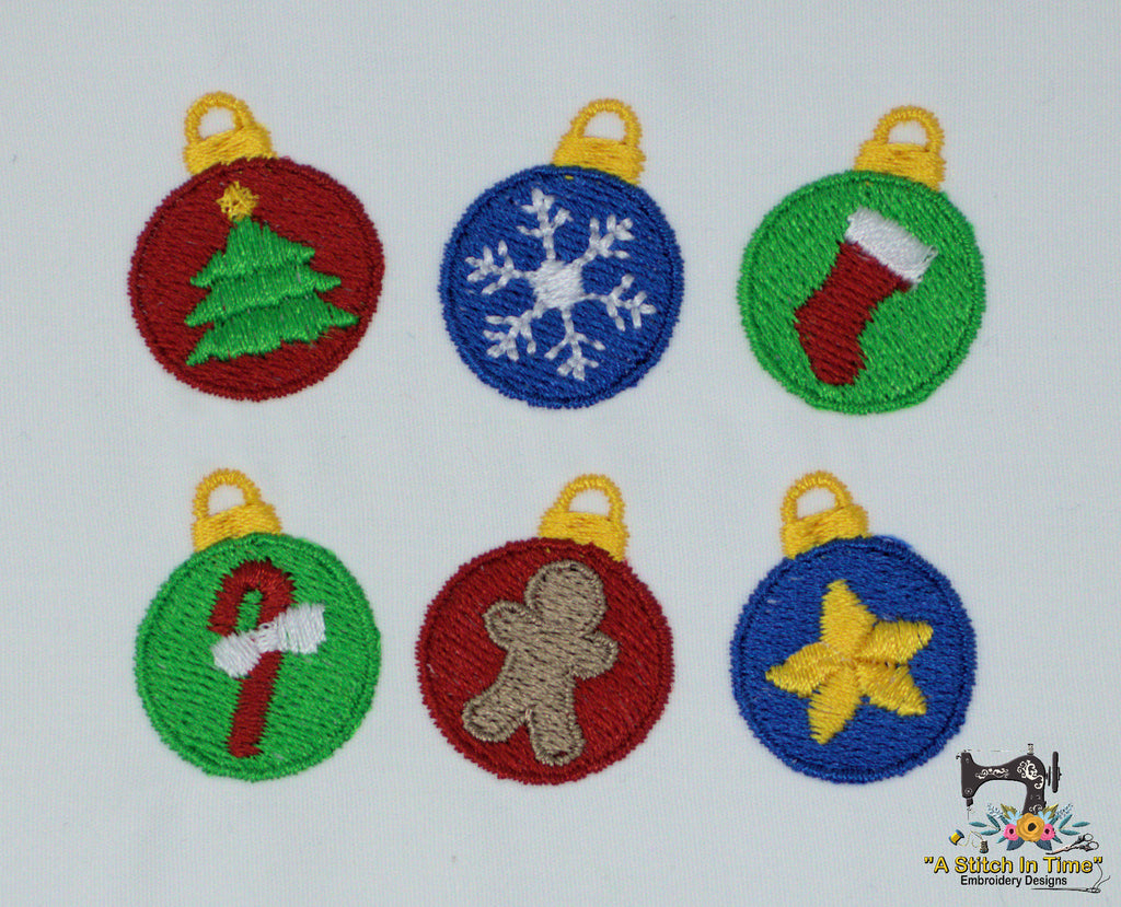 Christmas Ornaments Mini Set