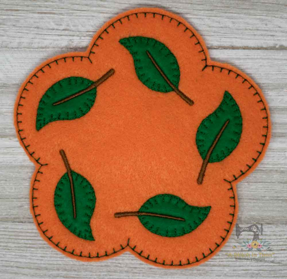 ITH Fall Leaf Mug Rug